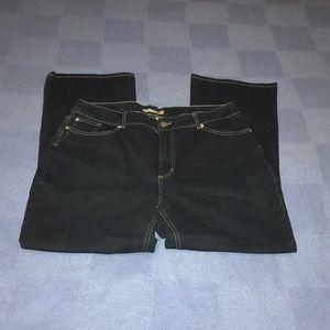 Chico's platinum Dark wash denim.size 3 - XL/16